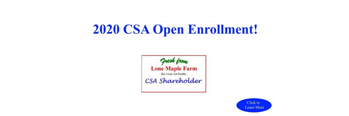 CSA Sign Up